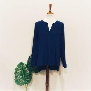 BCBGMaxAzria royal blue blouse